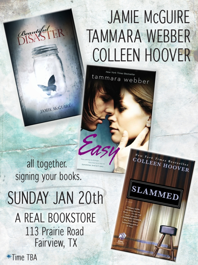 BOOK SIGNING ANNOUNCEMENT