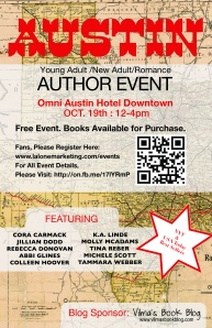 Flyer - Austin Author Event